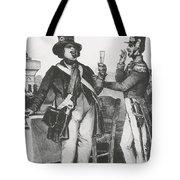 Honore De Balzac, French Author Tote Bag