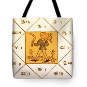 Horoscope Types, Engel, 1488 Tote Bag