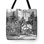 Horse Carriage, 1853 Tote Bag