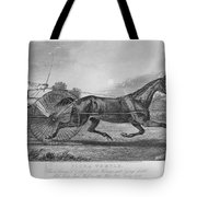 Horse Racing, 1857 Tote Bag