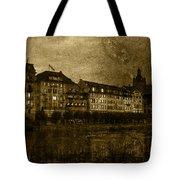 Hotel Schiff Tote Bag by Ron Jones