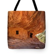 House On Fire Anasazi Indian Ruins Tote Bag
