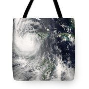 Hurricane Dean Tote Bag