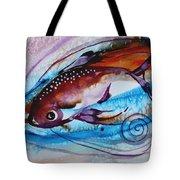 Hurricane Fish 28 Tote Bag
