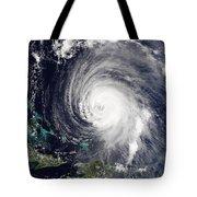 Hurricane Isabel Tote Bag