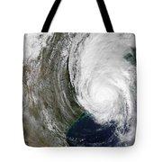 Hurricane Lili Tote Bag