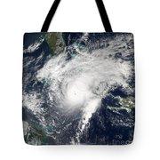 Hurricane Paloma Tote Bag