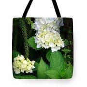 Hydrangea Blooming Tote Bag