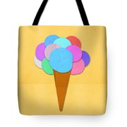 Ice Cream On Hand Made Paper Tote Bag