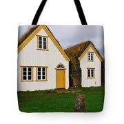 Icelandic Turf Houses Tote Bag