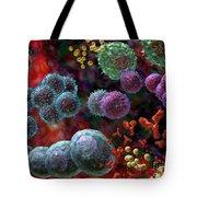 Immune Response Antibody 4 Tote Bag