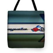 Impala Brightwork Tote Bag by Douglas Pittman