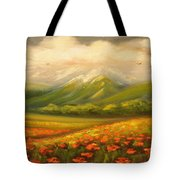 In The Old Mountains Tote Bag