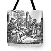 In The Stocks Tote Bag by Granger