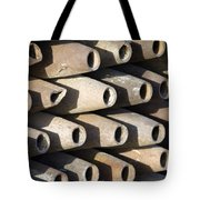 Inert Artillery Shells Are Stacked Tote Bag