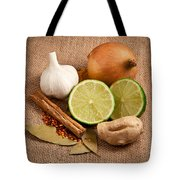 Ingredients Tote Bag by Tom Gowanlock