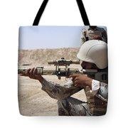 Iraqi Army Sergeant Sights Tote Bag