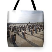 Iraqi Police Cadets Being Trained Tote Bag
