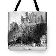 Ireland: Rock Of Cashel Tote Bag