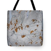 Ironwood In The Snow Tote Bag
