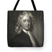 Isaac Newton, English Polymath Tote Bag