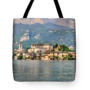 Island San Giulio Tote Bag