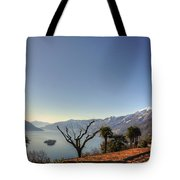 Islands On An Alpine Lake Tote Bag