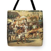Israel In Egypt Tote Bag by Sir Edward John Poynter