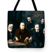 Jean-martin Charcot, French Neurologist Tote Bag