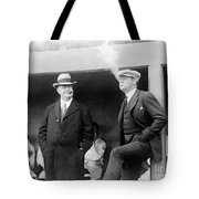 Johnson & Ruth, 1922 Tote Bag