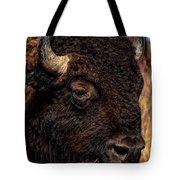 Kansas Buffalo Tote Bag