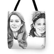 Kate Middleton Tote Bag by Murphy Elliott