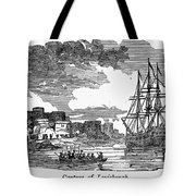 King Georges War, 1745 Tote Bag