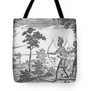 King Philips War, 1675 Tote Bag