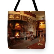 Kings Head Pub Kettlewell Tote Bag by Louise Heusinkveld