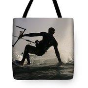 Kitesurfing Board Tote Bag