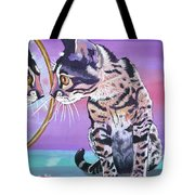 Kitten Image Tote Bag