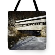 Knox Covered Bridge Tote Bag