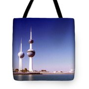 Kuwait Towers Tote Bag