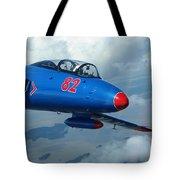 L-29 Delfin Standard Jet Trainer Tote Bag