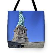 Lady Liberty 12 Tote Bag