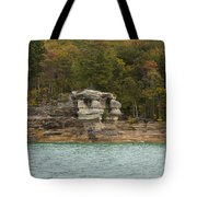 Lake Superior Pictured Rocks 49 Tote Bag