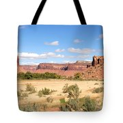Land Of Many Canyons Tote Bag