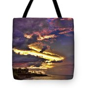 Layered Clouds Tote Bag