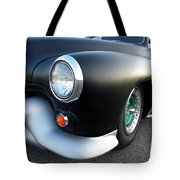 Lean Mean Racing Machine Tote Bag by Sarah Lamoureux