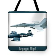 Legacy Of Flight Tote Bag