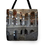 Library Of Congress - Washington D C Tote Bag