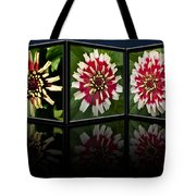 Life Of A Zinnia Tote Bag