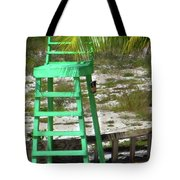 Lifeguard Chair Tote Bag