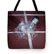 Light Bulb Smashing Tote Bag